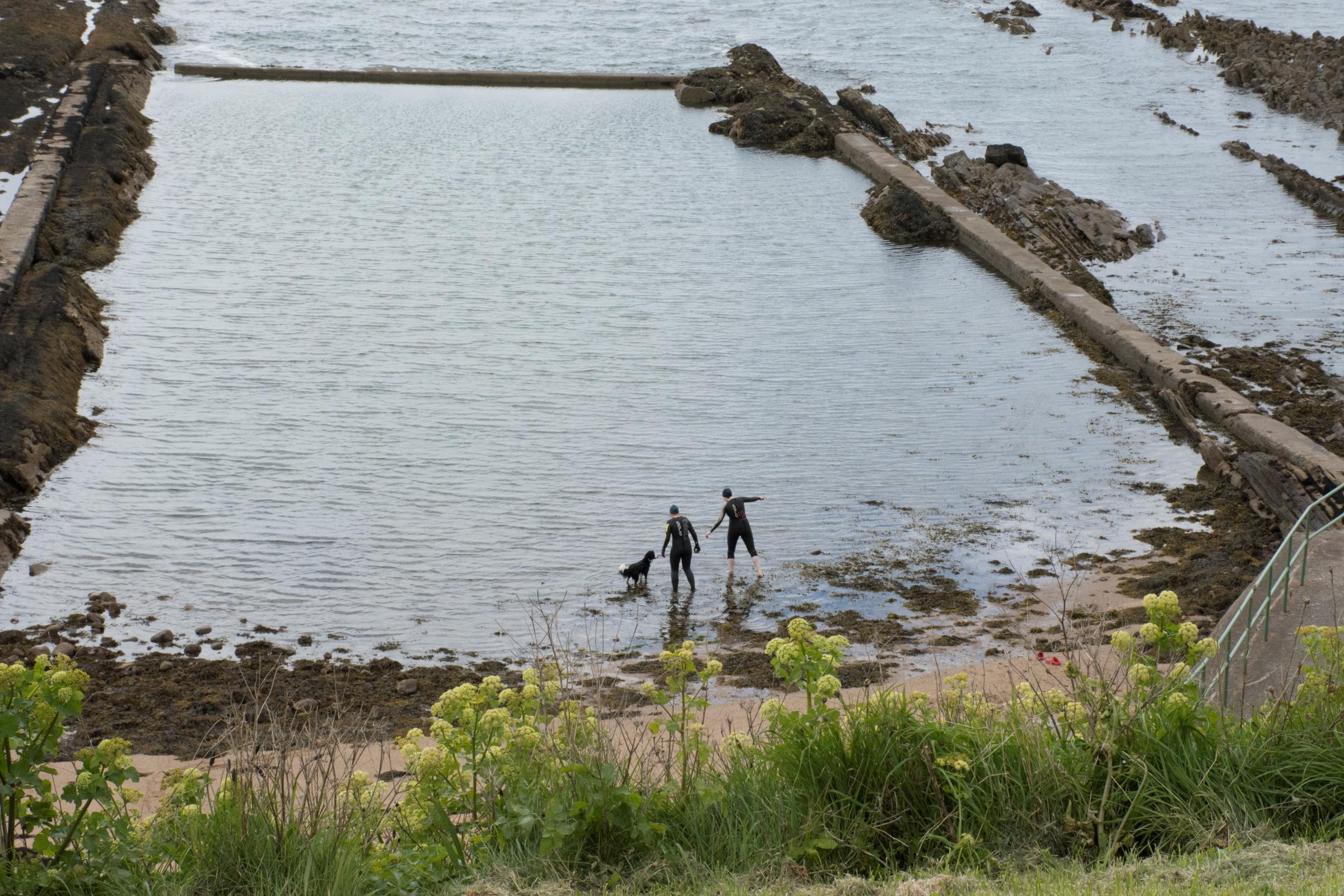 The tide is turning: bid to bring back Scotland's forgotten sea pools