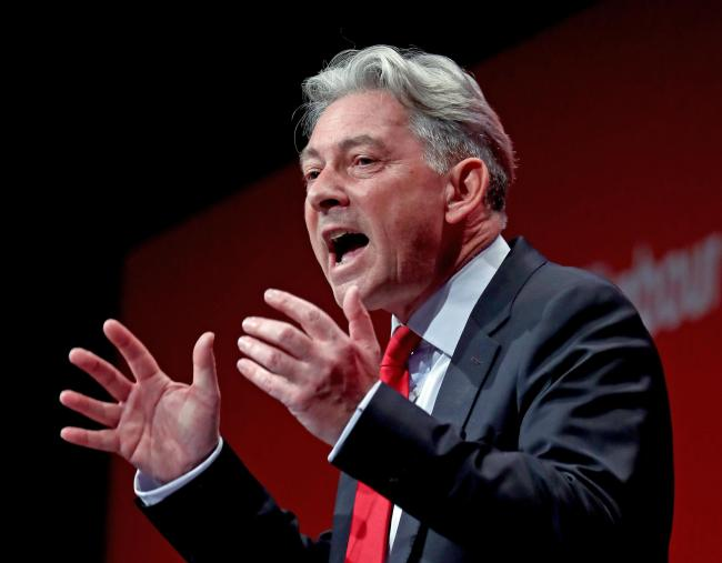 Scottish Labour leader Richard Leonard delivers his speech during the Labour Party Conference at the Brighton Centre in Brighton. PA Photo. Picture date: Monday September 23, 2019. See PA story LABOUR Main. Photo credit should read: Gareth Fuller/PA Wire.
