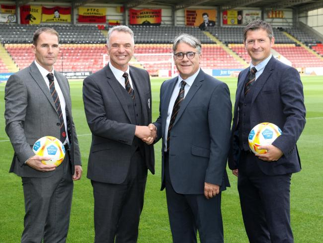 David Beattie is backing Partick Thistle's new management to restore the culture of the club. Pic: Tommy Taylor