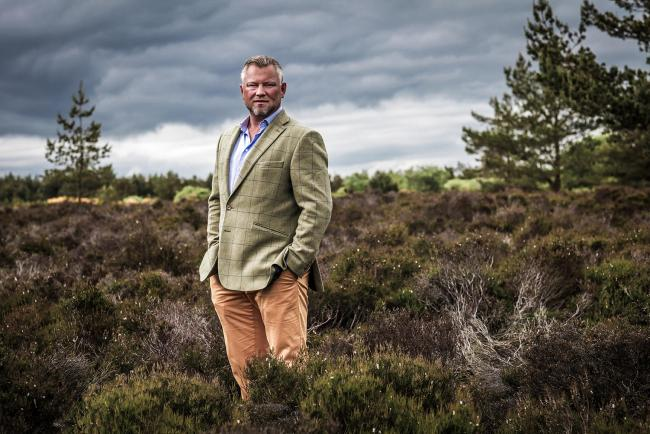 Christian Nissen runs Dundee-based venison supplier Highland Game
