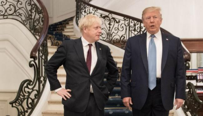 Johnson to tell Trump the NHS is not on the table in post-Brexit trade deal