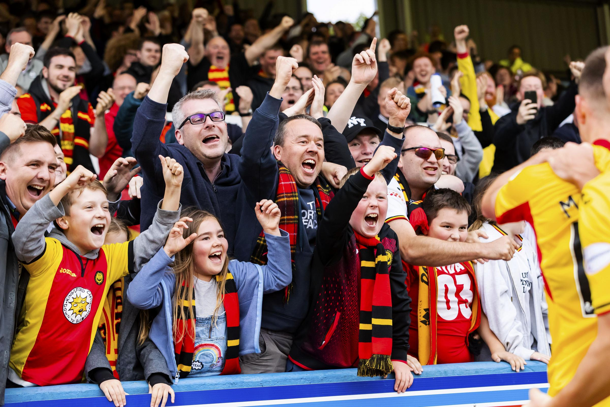 Coronavirus in Scotland: Partick Thistle change their name to 'Family Club' to support Jags fans