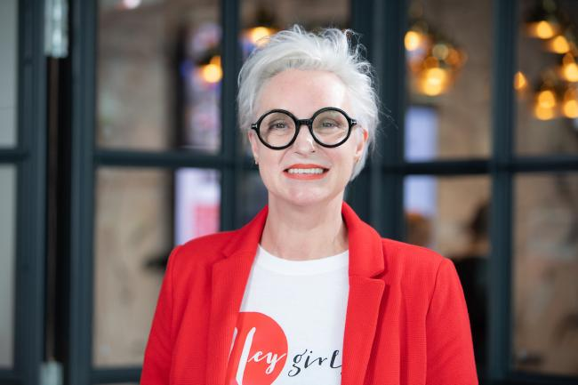 Celia Hodson founded social enterprise Hey Girls in 2018