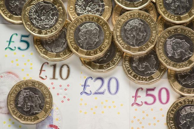 EMBARGOED TO 0001 MONDAY SEPTEMBER 2..File photo dated 07/01/19 of British pound coins and notes. Nearly half of claimants hit by the benefits freeze cannot afford essentials such as rent, bills and food, new data has revealed. PRESS ASSOCIATION Photo. Is