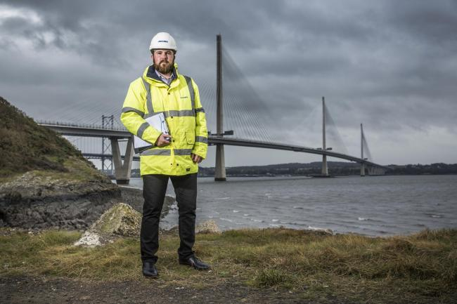 Edinburgh-based Ryan O'Connor was a Modern Apprentice with the highways team of Jacobs UK and has now become a Graduate Apprentice
