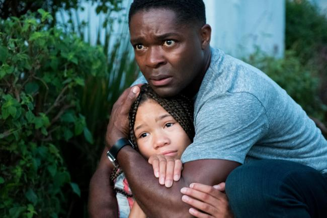 Don't Let Go with David Oyelowo as Jack Radcliff and Storm Reid as Ashley Radcliff    Pic; PA