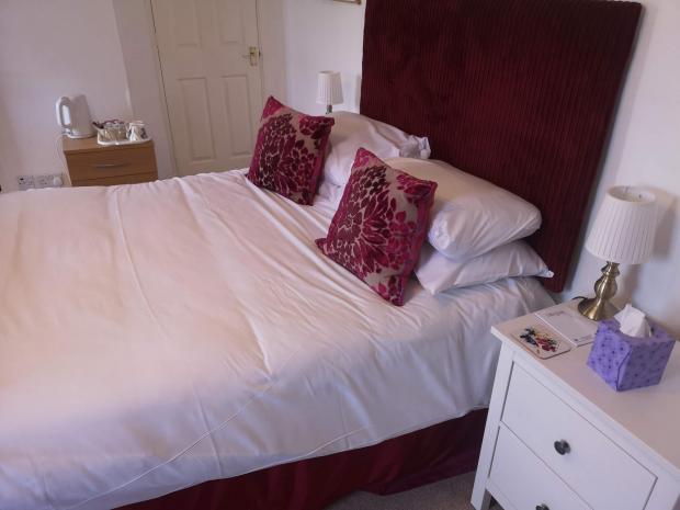 HeraldScotland: Typical bedroom, The Allan Ramsay Hotel, Penicuik