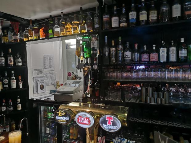 HeraldScotland: Bar area, The Allan Ramsay Hotel, Penicuik