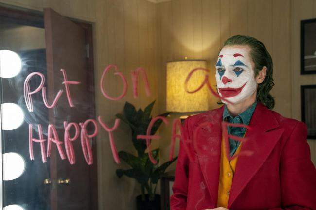 Undated film still handout from Joker. Pictured: Joaquin Phoenix as Arthur Fleck. Picture; PA
