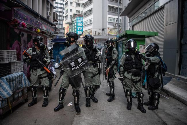 Tensions in Hong Kong are continuing to rise.
