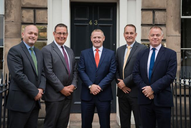 HNH is launching an Edinburgh office, and recruited four veterans of the Scottish accountancy sector.