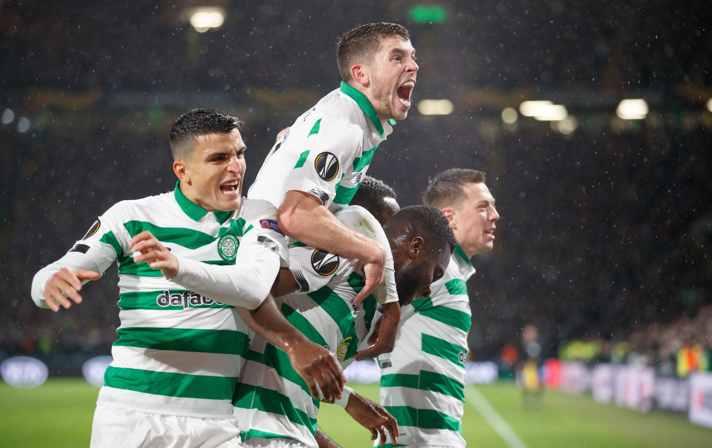 Celtic 2-0 Cluj: Europa League vengeance sweet for Hoops as Edouard and Elyounoussi settle score