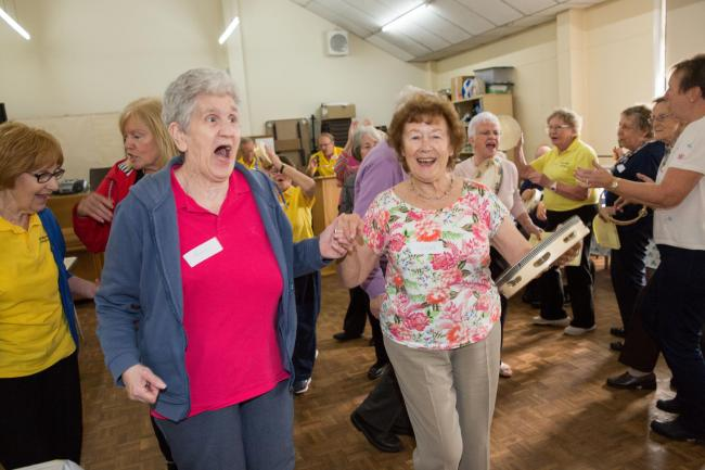 Dementia campaign - musical memories project