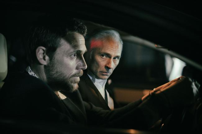 Mark Bonnar and Jamie Sives in Guilt. Picture: BBC