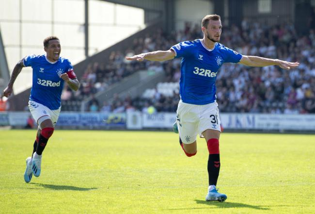 Italian side Roma have been linked with an approach for Rangers' Borna Barisic PHOTO: PA