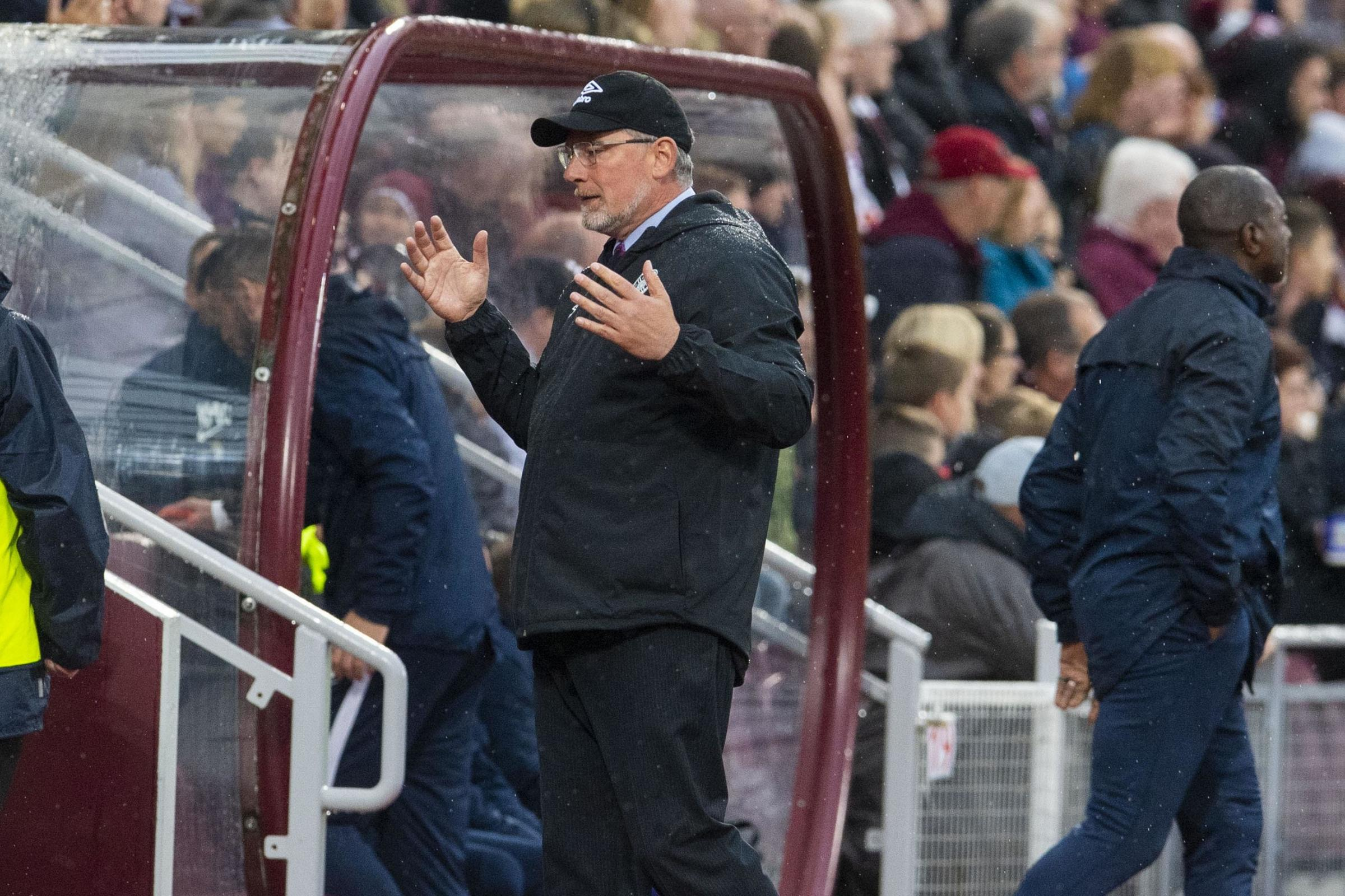 Craig Levein: My players did not try hard enough