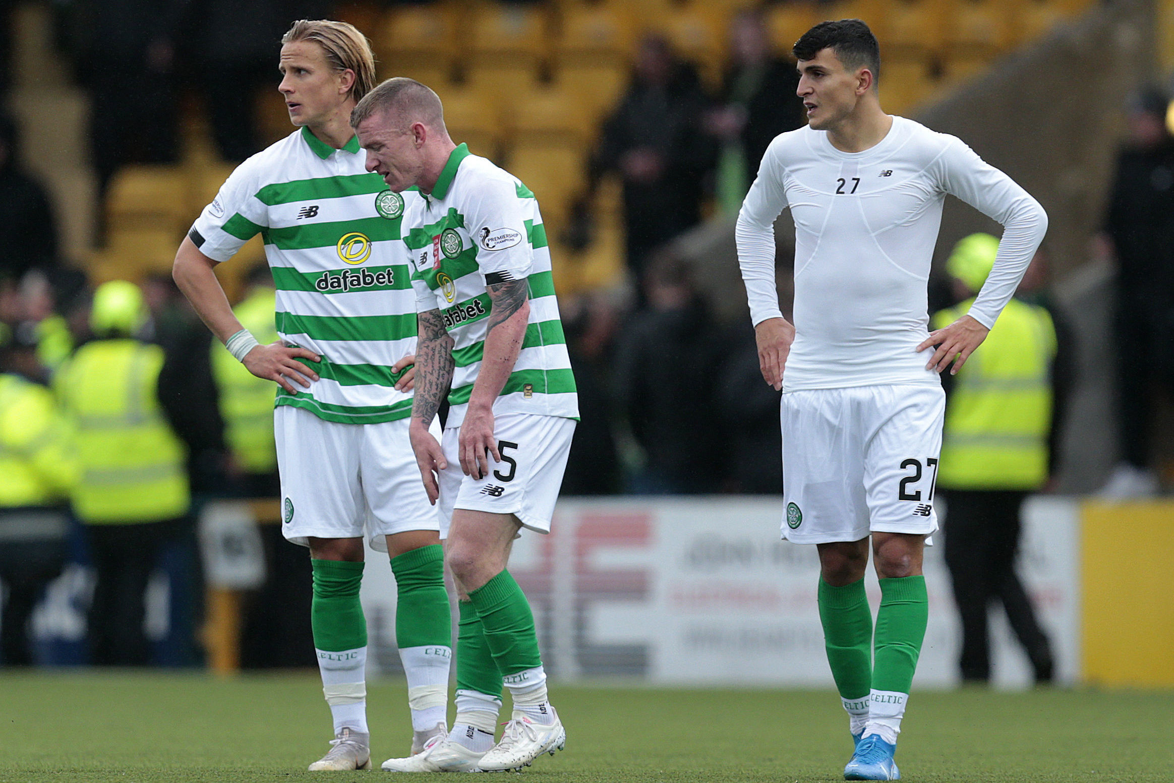 Brown promises reaction to Livingston defeat from Celtic