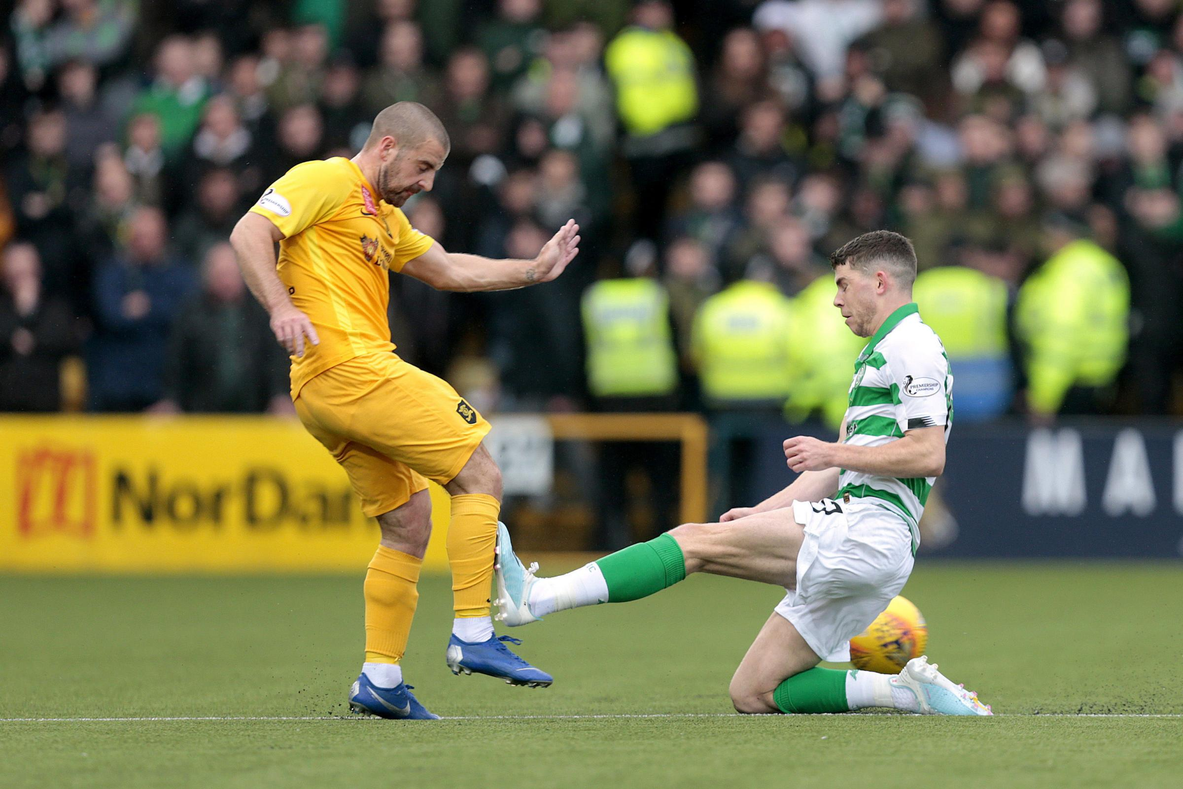 Celtic were in control until red card proved costly in Livingston defeat, says Neil Lennon