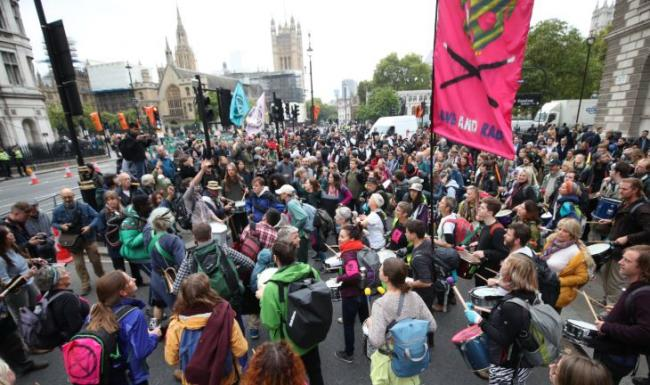 Police Scotland to send 100 officers to London to help police Extinction Rebellion protests