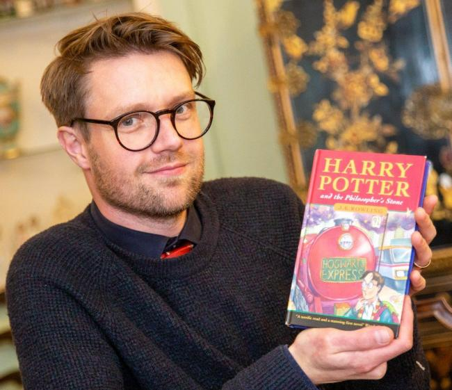 The 1997 Harry Potter And The Philosopher's Stone hardback edition could fetch up to £30,000 at auction