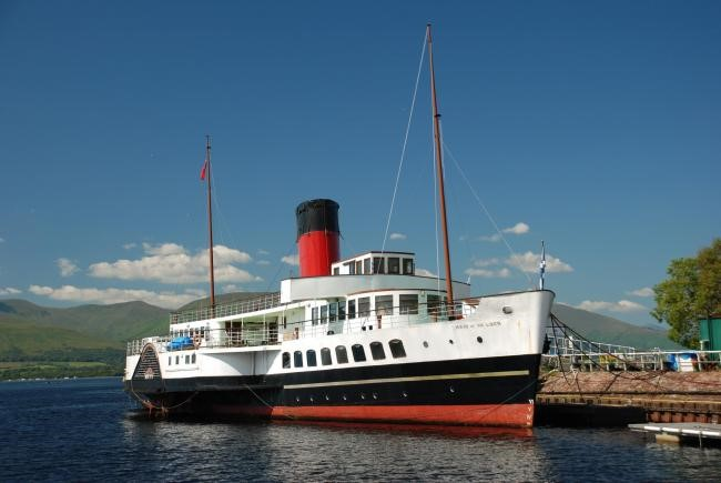 Maid of the Loch moves step closer to sailing once more