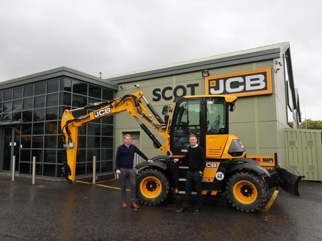 Iain and Robyn Bryant, joint managing directors, Scot JCB
