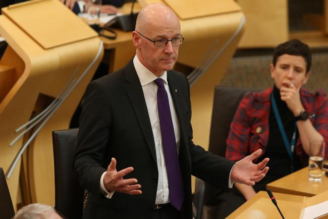 John Swinney pledges £7m fund to mitigate impact of a 'no deal' Brexit