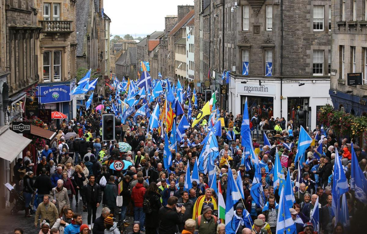 Support for Scottish independence rises to 50%, according to new poll
