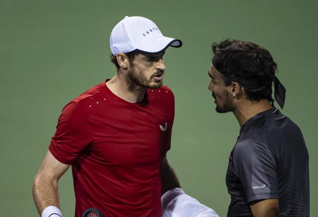 Andy Murray loses cool with Fabio Fognini in fiery Shanghai Masters defeat