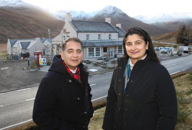 Sanjay Narang and his sister Rachna who own several hotels in the Highlands and are now planning on building a village in the Highlands...see story...pic Peter Jolly.
