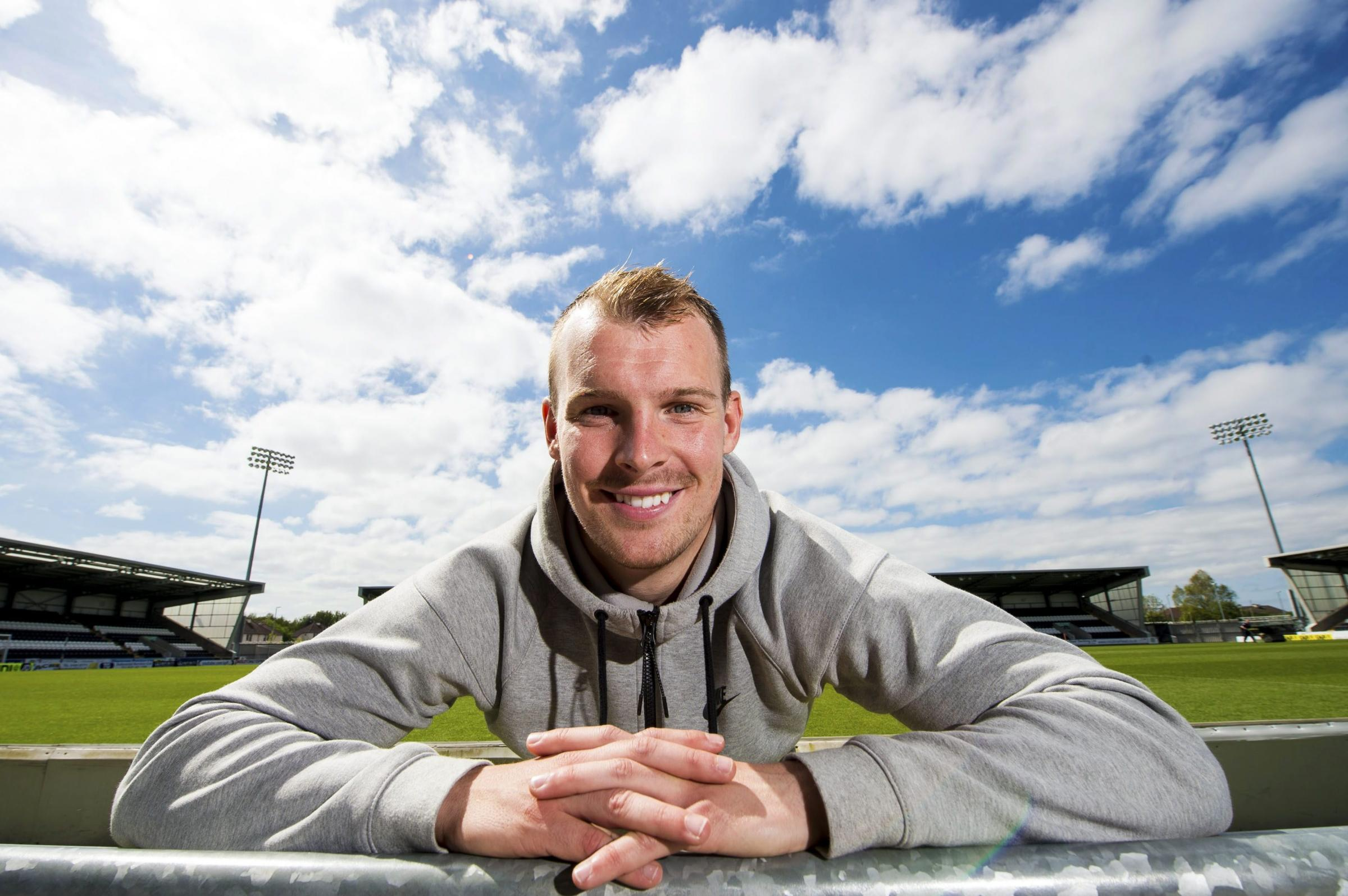 Former Rangers winger Gregg Wylde keen to get back in the game after leaving Livingston