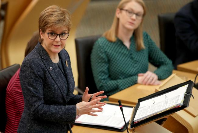 No alternative to indyref 2 on path to independence, says Nicola Sturgeon