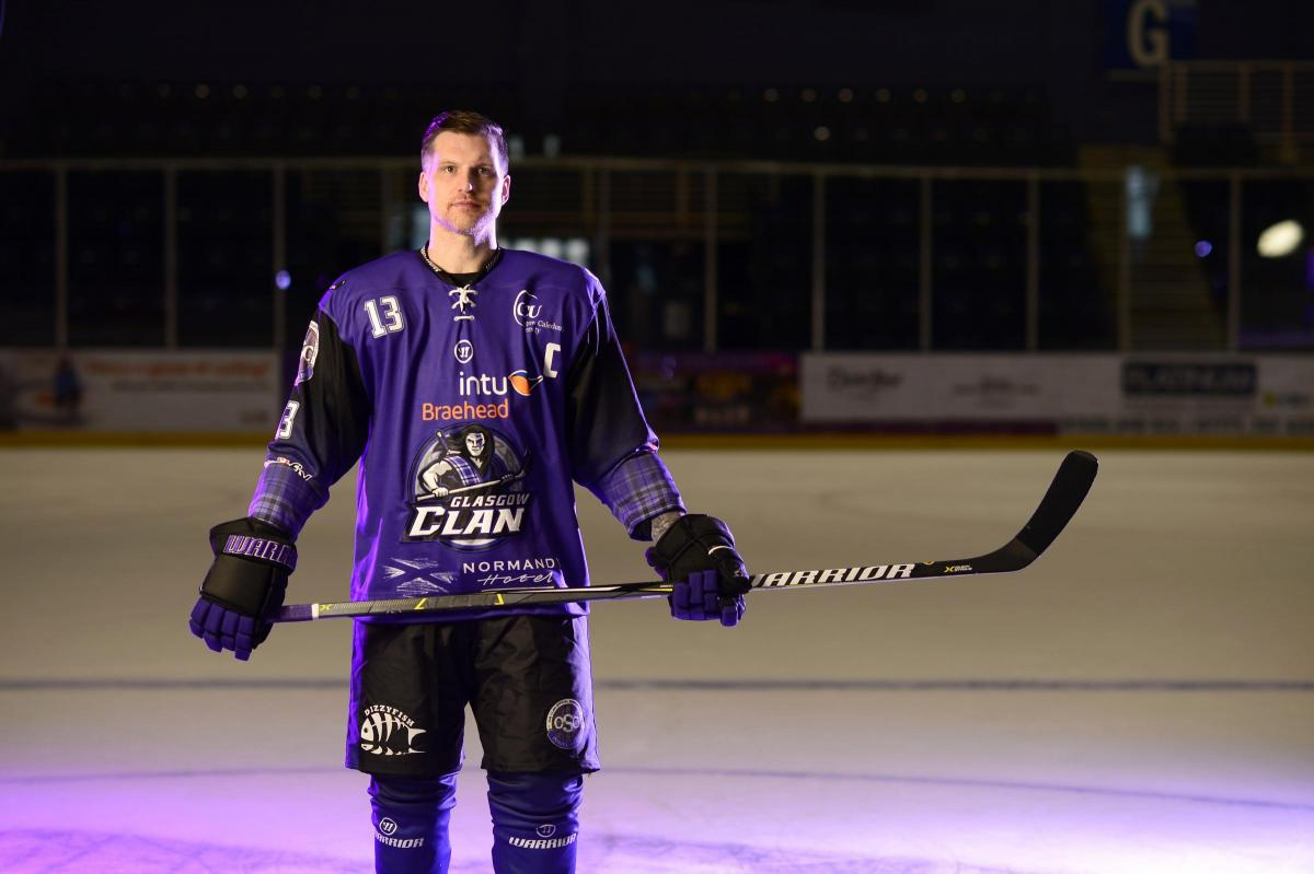 Zack Fitzgerald missing being on the ice but relishing Glasgow Clan's good form