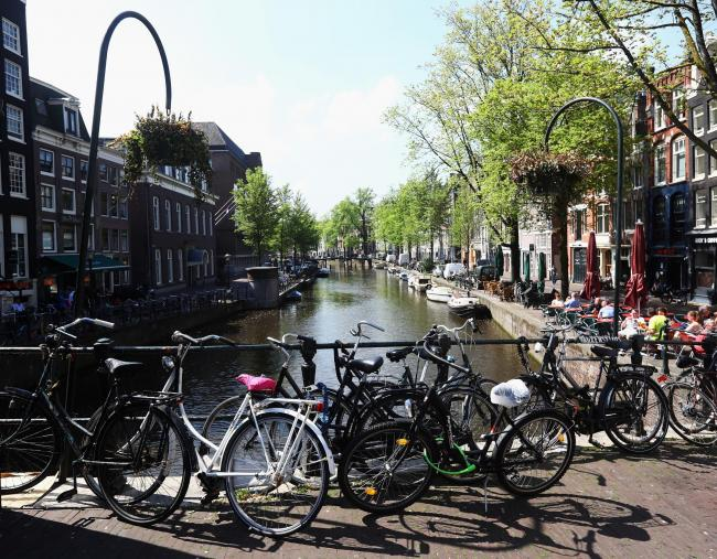 Amsterdam has created 'happy, healthy spaces' (Getty Images)