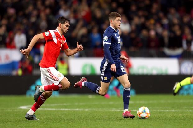 Scotland faced Russia twice this year in their qualifying group for Euro 2020 PHOTO: PA