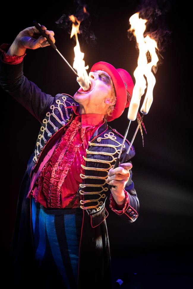 ark Circus at the Paisley Halloween Festival on Friday 25 and Saturday 26 October