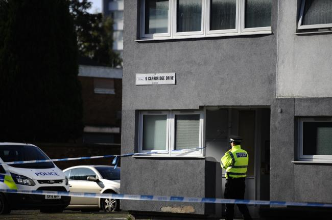 A man has been arrested following the death in Maryhill