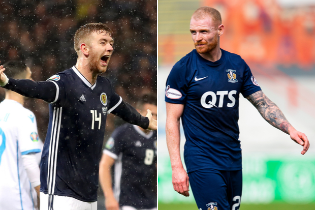 Chris Burke hails Kilmarnock teammate Stuart Findlay's dream Scotland debut and hopes it bodes well for club