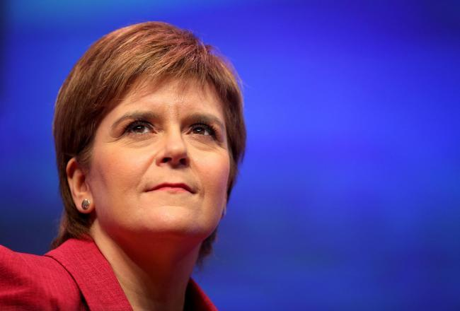 Nicola Sturgeon: 'The NHS will never be safe in Tory hands'