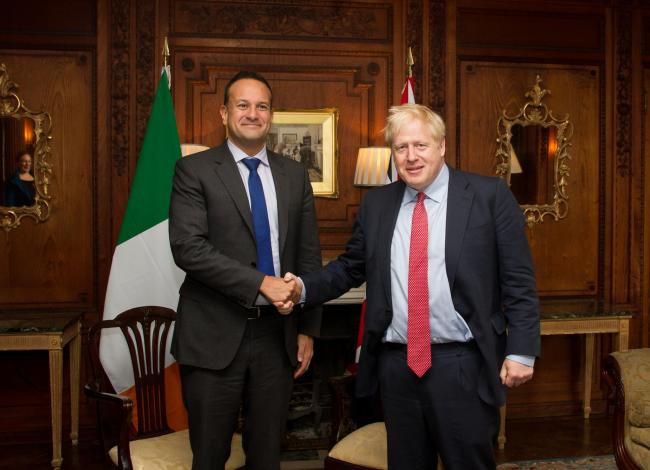 Shake on it: are Varadkar and Johnson on verge of historic Brexit deal?