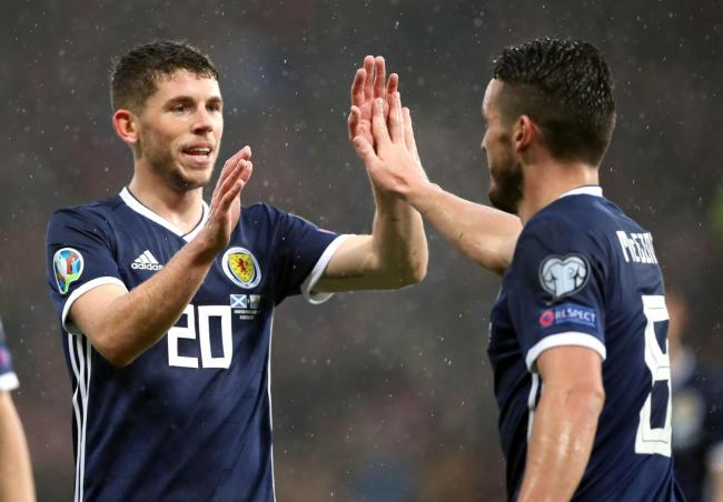 Ryan Christie was happy for John McGinn to claim Scotland's first goal against San Marino on his way to a hat-trick.