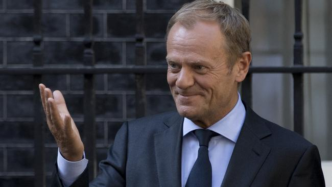 in full: Donald Tusk's letter confirming Brexit deal
