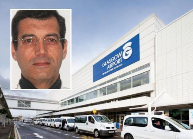 A man thought to be Xavier Dupont de Ligonnès was arrested at Glasgow Airport