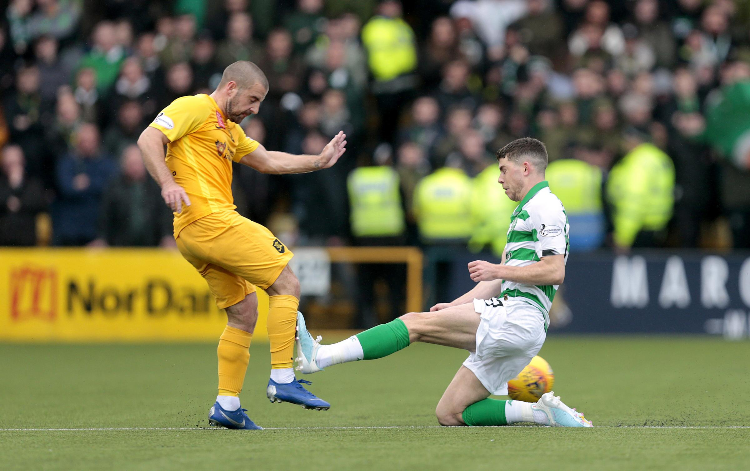 Gary Holt sympathises with Celtic's Ryan Christie over abuse received following Livingston red