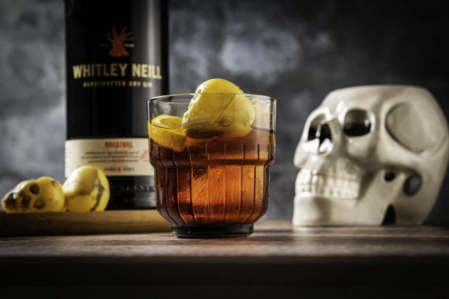 Whitley Neill Original Dry Gin and Nightmare in Florence cocktail