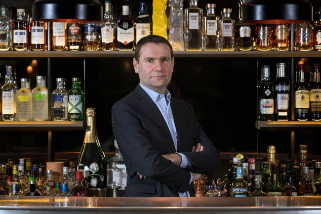 Alexandre Ricard, grandson of Paul Ricard and the head of French spirits and wine company Pernod Ricard. JOEL SAGET/AFP/Getty