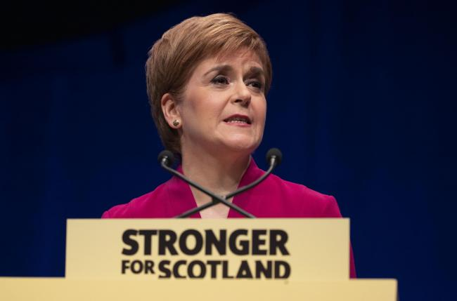 First Minister Nicola Sturgeon said no Brexit was