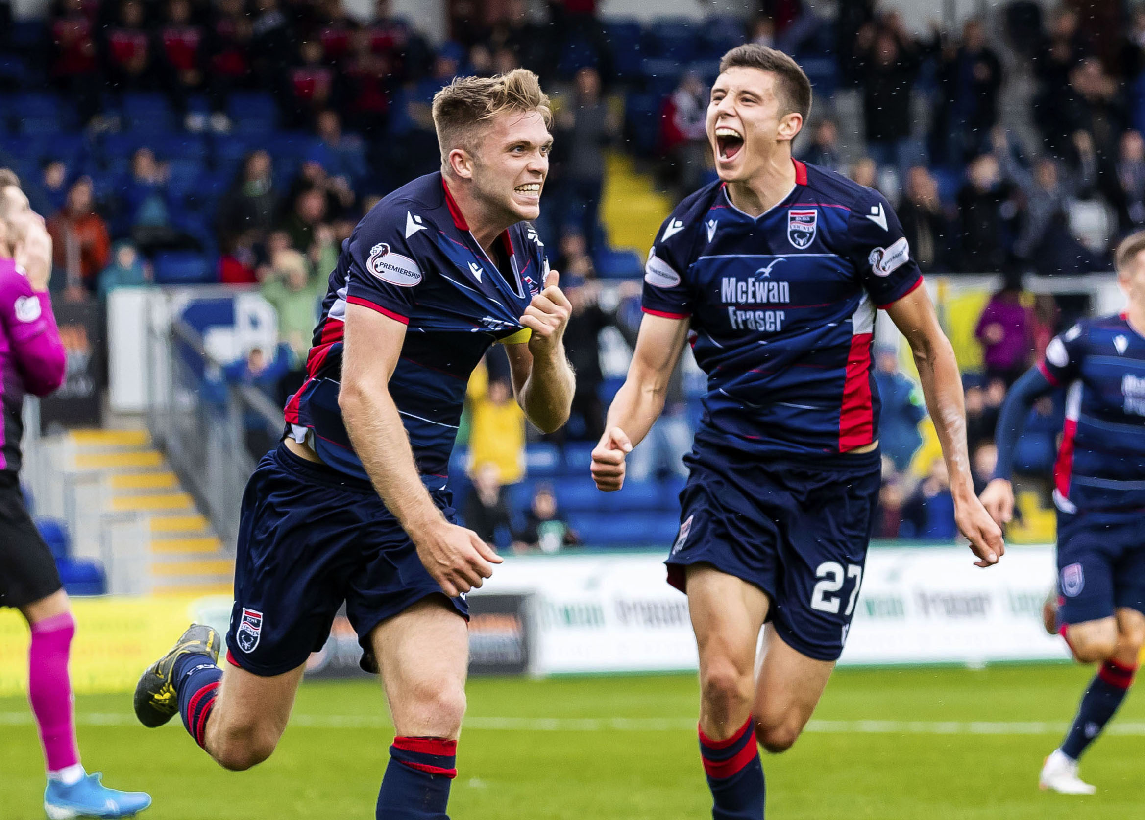 Marcus Fraser insists Ross County can extend their unbeaten run when they play Celtic