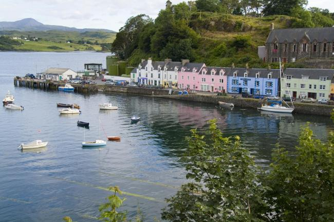 Portree is popular with tourists but the influx of visitors has led to parking problems in a number of areas.