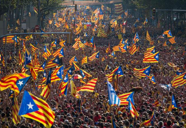 Catalonia has witnessed growing unrest over the issue of independence.